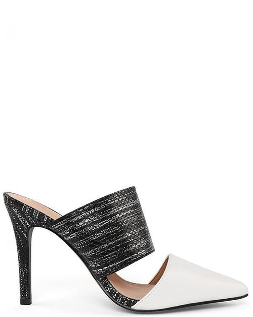Backless Heel Shoes - Jezzelle