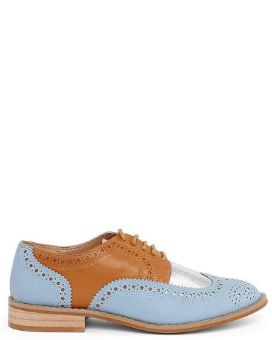 Multicolour Brogues Shoes-Jezzelle