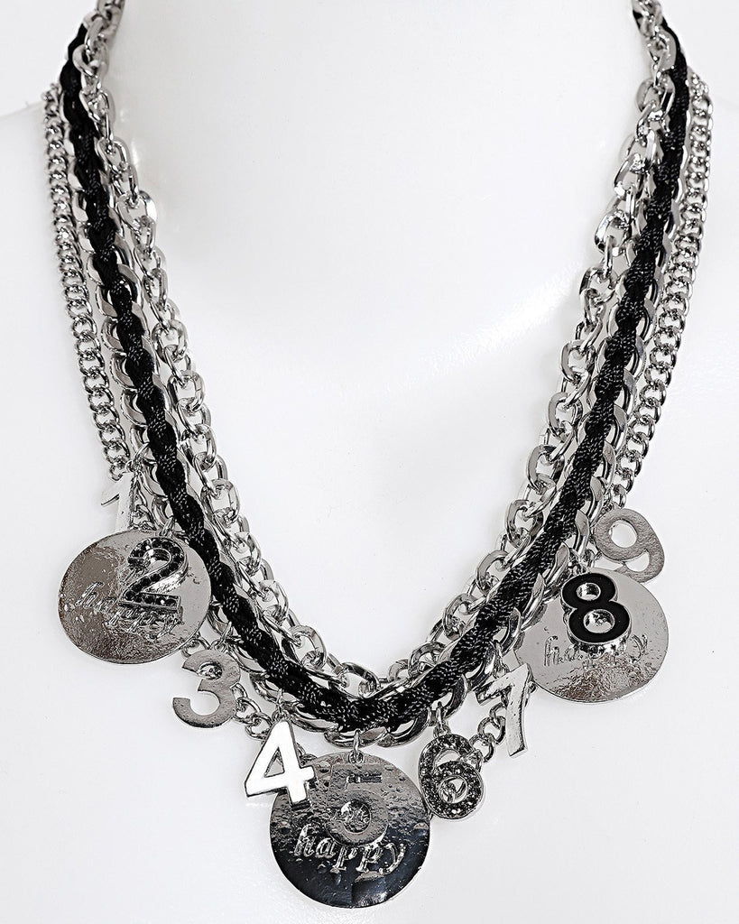 Coins Chain Necklace-Jezzelle