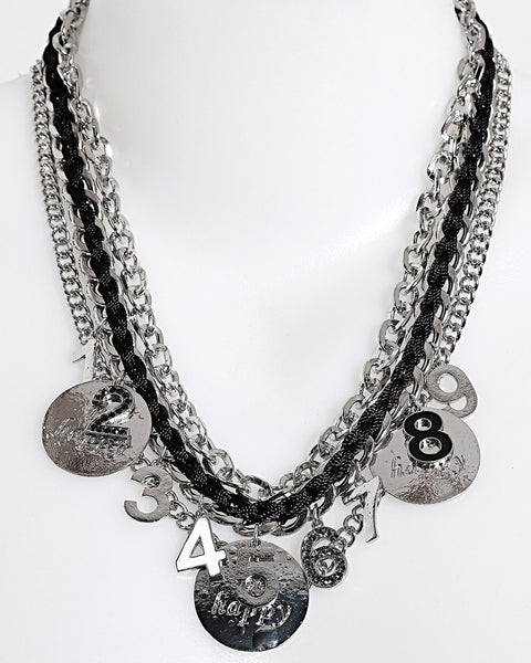 Coins Chain Necklace - Jezzelle