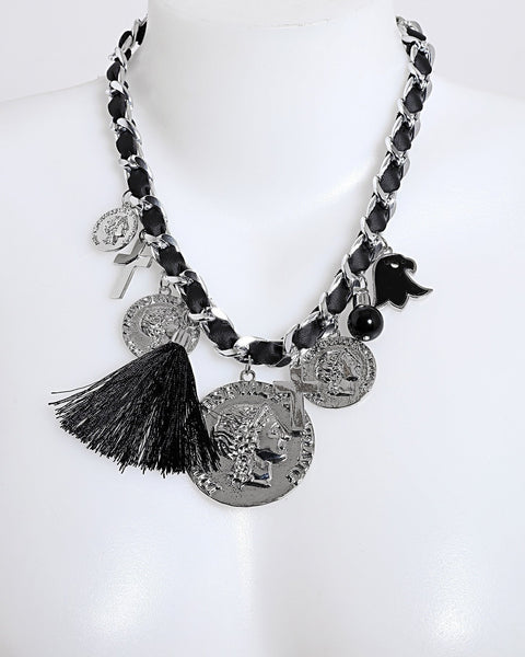 Chain Layers Numbers Necklace - Jezzelle