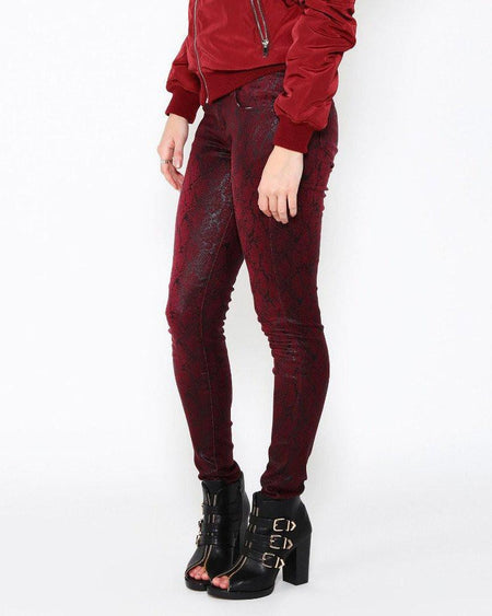 Sequin Cropped Trousers