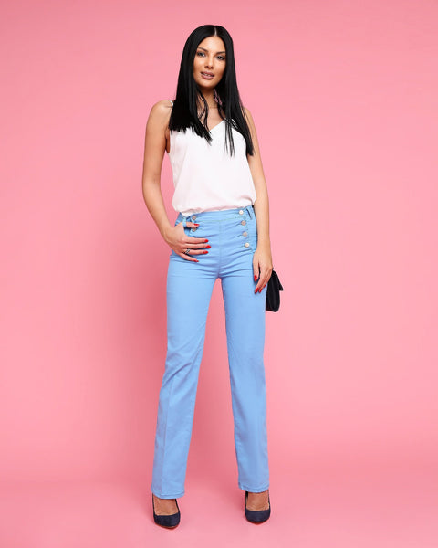 Classic Casual Trousers-Jezzelle