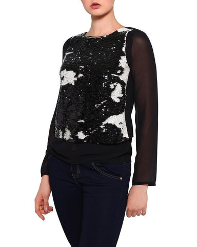 Magic Sequins Top-Jezzelle