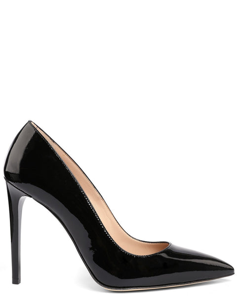 Black Patent Leather Pumps - jezzelle  - 1