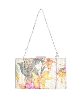 Floral Print Shoulder Bag-Jezzelle