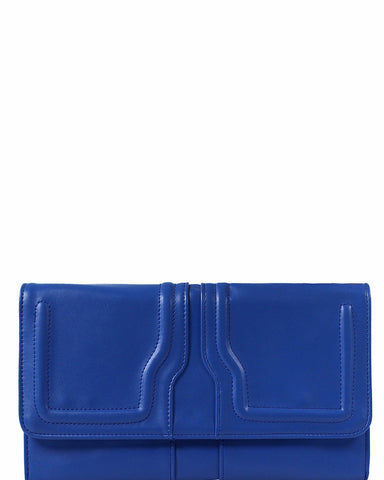 Electric Blue Clutch Bag - Jezzelle
