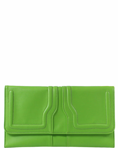 Neon Green Clutch Bag