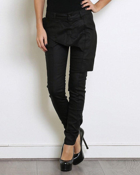 Front Panel Skinny Trousers - Jezzelle
