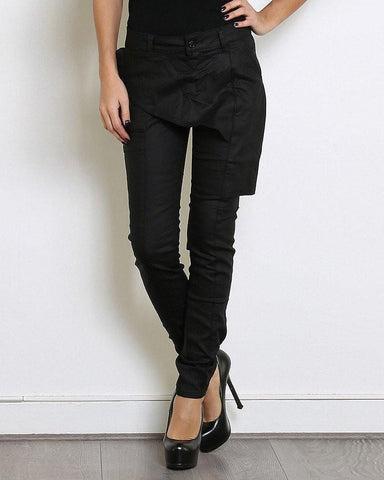 Front Panel Skinny Trousers-Jezzelle