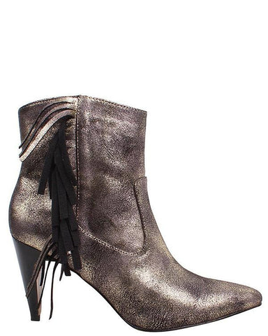 Chunky Platform Leather Boots