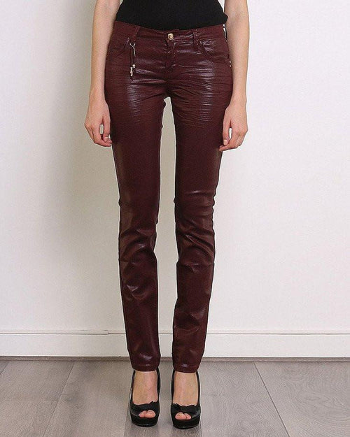 Burgundy Trousers - Jezzelle