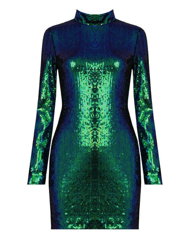 Sequin Bodycon Dress-Jezzelle