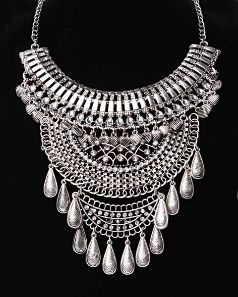 Boho Statement Necklace-Jezzelle