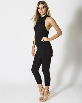 Longline Top & Skinny Trousers Co-Ord-Jezzelle
