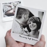 Personalised Photo and Message Acrylic (White)