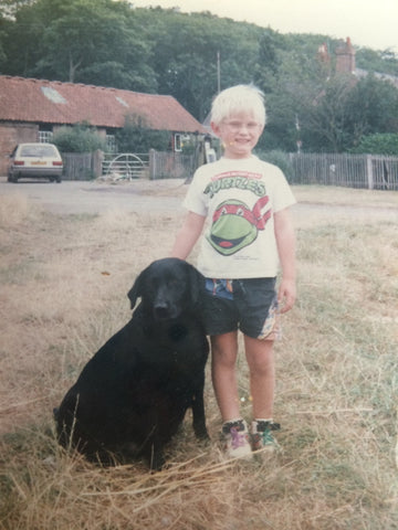 My Retro Pet - every month we showcase a photo of someone and their pet.