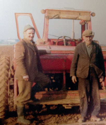 Jim and George, two men who worked on our farm