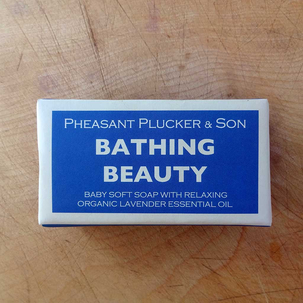 Pheasant Plucker & Son's handmade soap - Bathing Beauty and Peppermint and Pumice Scrub