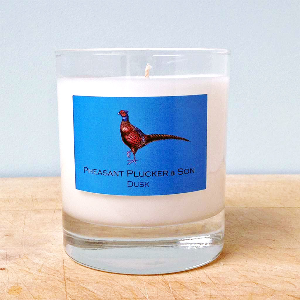 Pheasant Plucker & Son's Dusk candle