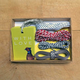 Pheasant gift wrapping set
