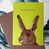 Rabbit thank you cards (pack of 8)