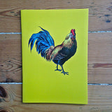 Pheasant Plucker & Son's yellow cockerel notebook