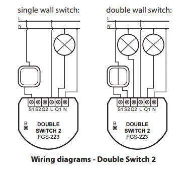 Awesome Fibaro Z Wave Double Switch 2 Wiring Cloud Pimpapsuggs Outletorg