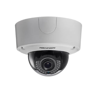 LiveHouse Automation :Hikvision 12MP, Outdoor Dome Camera, H.264+, 15fps, 40m IR, DWDR, IP66 (2.8-12mm),Hikvision