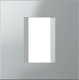LiveHouse Automation :TEM OL10 Line Cover Plate Line 1/2M,Elox Silver