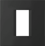 LiveHouse Automation :TEM OL10 Line Cover Plate Line 1/2M,Soft touch Black