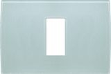 LiveHouse Automation :TEM OP13 Cover Plate PURE 1/3M,Ice Green