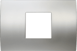 LiveHouse Automation :TEM OP23 Cover Plate PURE 2/3M,Satin Silver