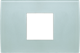 LiveHouse Automation :TEM OP23 Cover Plate PURE 2/3M,Ice Green