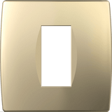 LiveHouse Automation :TEM OS10 Cover Plate SOFT 1/2M,Sand Gold