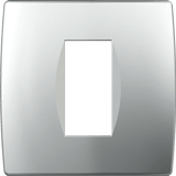 LiveHouse Automation :TEM OS10 Cover Plate SOFT 1/2M,Elox Silver