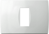 LiveHouse Automation :TEM OS13 Cover Plate SOFT 1/3M,Polar White