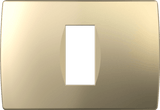 LiveHouse Automation :TEM OS13 Cover Plate SOFT 1/3M,Sand Gold