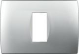 LiveHouse Automation :TEM OS13 Cover Plate SOFT 1/3M,Elox Silver