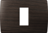 LiveHouse Automation :TEM OS13 Cover Plate SOFT 1/3M,Wenge