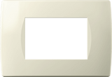 LiveHouse Automation :TEM OS30 Cover Plate SOFT 3M,Ivory White