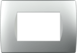 LiveHouse Automation :TEM OS30 Cover Plate SOFT 3M,Elox Silver