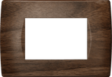 LiveHouse Automation :TEM OS30 Cover Plate SOFT 3M,Walnut