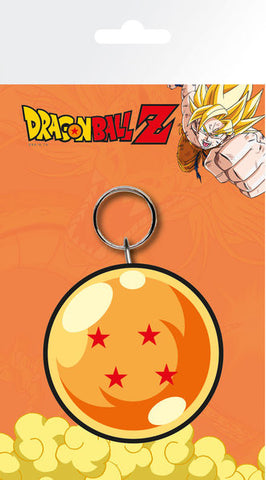 Dragonball Z Rubber Keychain Dragon Ball 7 cm