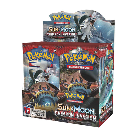 Pokémon TCG: Crimson Invasion (Sun & Moon) Booster Pack