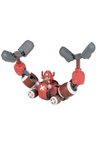 One Piece Chopper Robo Series Plastic Model Kit Chopper Crane 10 cm