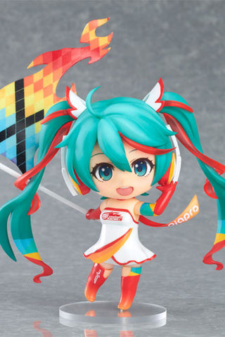 Racing Miku 2016 Nendoroid PVC Action Figure Racing Miku 2016 Ver. 10 cm