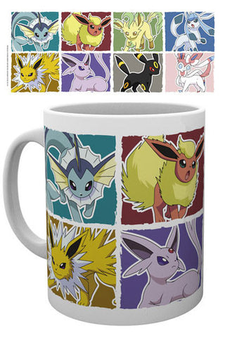 Pokemon Mug Eevee Evolution