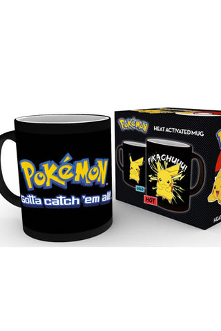 Pokemon Heat Change Mug Pikachu