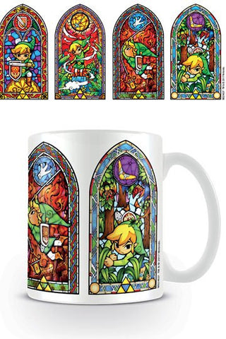 Legend of Zelda Mug Stained Glass